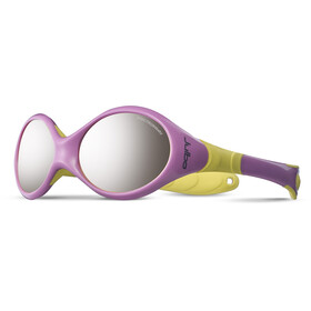 Julbo Baby Looping II Spectron 4 Sunglasses 12-24M Pink/Yellow-Gray Flash Silver